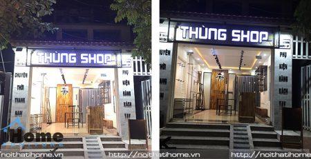 Thiết kế shop quần áo tại Hải Phòng