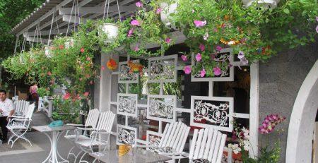 Thiết kế nội thất cafe sân vườn